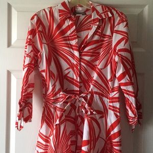 Tommy Bahama button up beach cover up